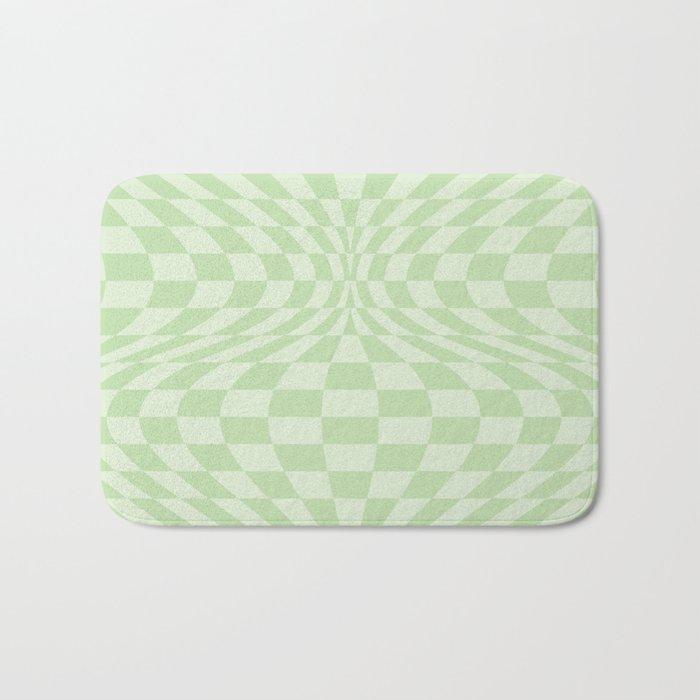 Greens - Optical Game 25 Bath Mat