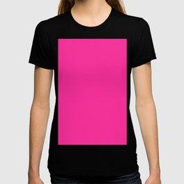 Fluorescent Pink | Neon Pink T-shirt