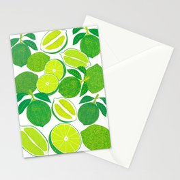 Lime Harvest Stationery Cards