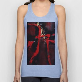 Red Dragon Unisex Tank Top