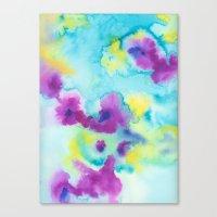 tie dye Canvas Prints featuring Tie-Dye by Tatiana Shaffer