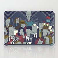 twin peaks iPad Cases featuring Twin Peaks by Ale Giorgini