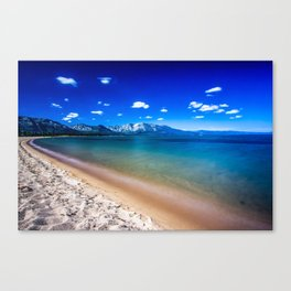 South Lake Tahoe on a Sunny Day Canvas Print
