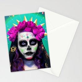 Niña de Muerta Stationery Cards