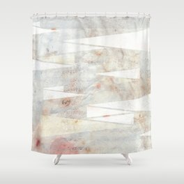 Abstract Triangles no.2 Shower Curtain