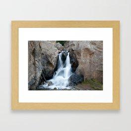 Boulder Falls #552 Framed Art Print