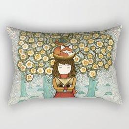 Deforestation Rectangular Pillow