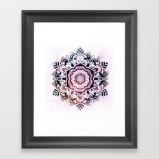FREESOUL MANDALA Framed Art Print