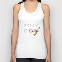 polygon Tank Tops featuring LOW POLYGON by mountstar