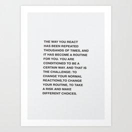 React Art Print