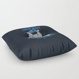 Sailor Tattooed Bear Floor Pillow