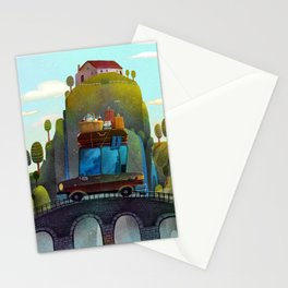 vacation car Stationery Cards