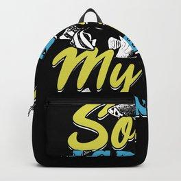 Fishkeeping Aquarium Fishkeeper Aquarist Gift Backpack