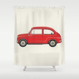 Automobile Zastava 750 - Zastava Shower Curtain