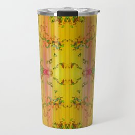 fresh stylized garden Travel Mug