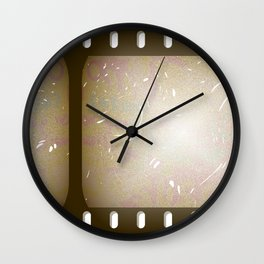 Old Film Wall Clock