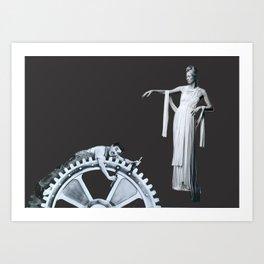 Charlie Chaplin Poster, Tilda Swinton Poster, Modern Times Poster, Minimalist Movie PRINT, Scandinav Art Print