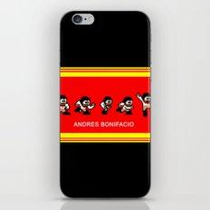 8-bit Andres 5 pose v2 iPhone & iPod Skin