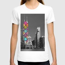 Funky Landmark - Chicago T-shirt