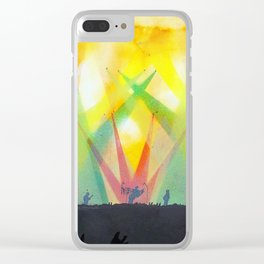 live concert painting Clear iPhone Case