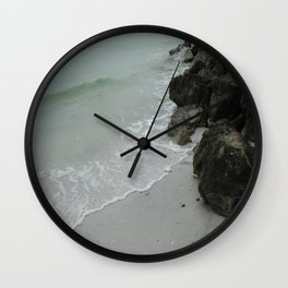 Rocky Shore II Wall Clock