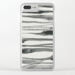 Abstract Line No. 81 Clear iPhone Case