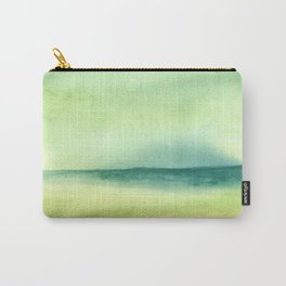Green Abstract Landscape Carry-All Pouch