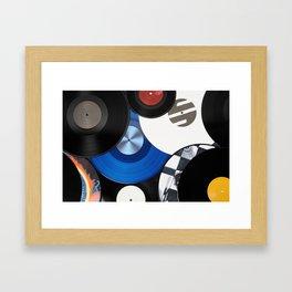 Vinyls Framed Art Print