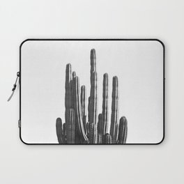 Black and White Cactus Laptop Sleeve