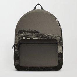 Vintage Hollywood sign Backpack