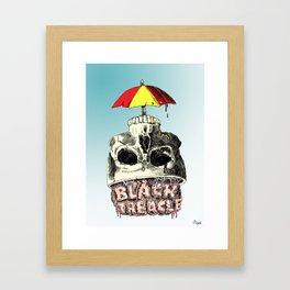 Black Treacle Framed Art Print