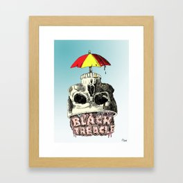 Black Treacle Framed Art Print