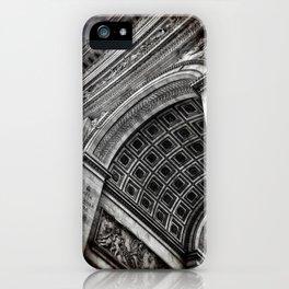 Arc de Triomphe | Paris [Sky cut 428]  iPhone Case