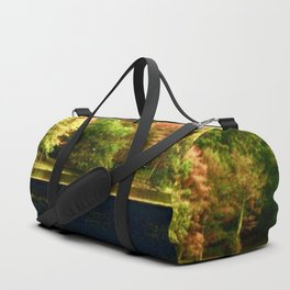 Autumn At Night Duffle Bag