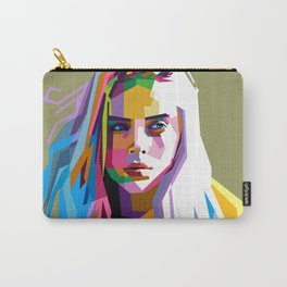 Billie Eilish - pop art Carry-All Pouch