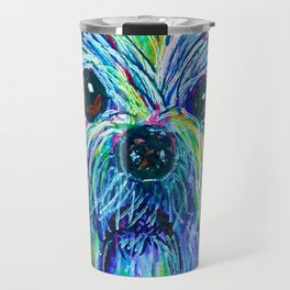 Shih Tzu Intense Colors Travel Mug