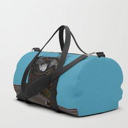 iguana blue Duffle Bag