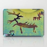 reindeer iPad Cases featuring reindeer by donphil