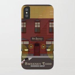 sweeney todd  iPhone Case