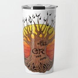 Logo, Sunset Variant Travel Mug
