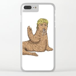 Don't worry world, everything will be ok..... Clear iPhone Case