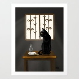 Window light Art Print