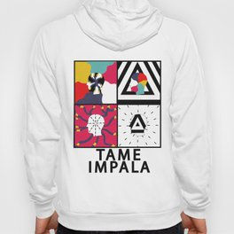 """Tame Impala Silhouette Faces """"Feels Like We Only Go Backwards"""" Hoody"""