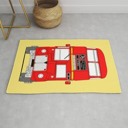 The Routemaster London Bus Rug