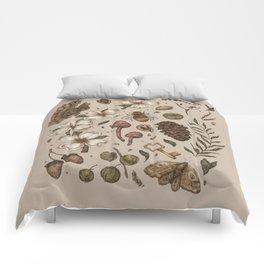 Nature Walks (Light Background) Comforters