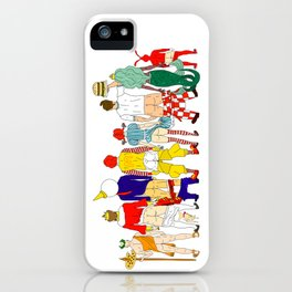 Fast Food Butts Mascots iPhone Case