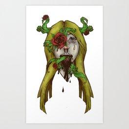 Roses Thorns Art Print