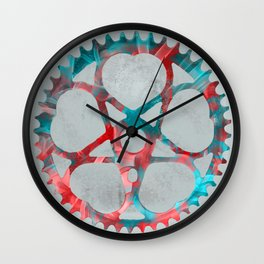 """Metal"" Sprocket Wall Clock"