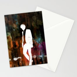 The invisible man... Stationery Cards