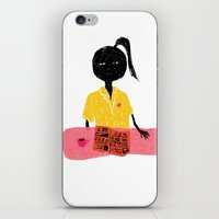 nurse iPhone & iPod Skins featuring NURSE by Camilla Voutilainen Nordbø